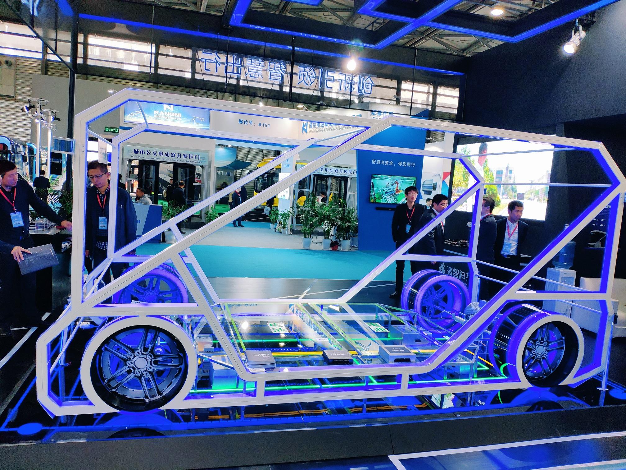 清智科技首秀2018上海国际客车展
